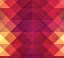 Abstract Geometric Spectrum Sticker
