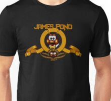 James Pond - SNES Title Screen Unisex T-Shirt