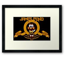 James Pond - SNES Title Screen Framed Print