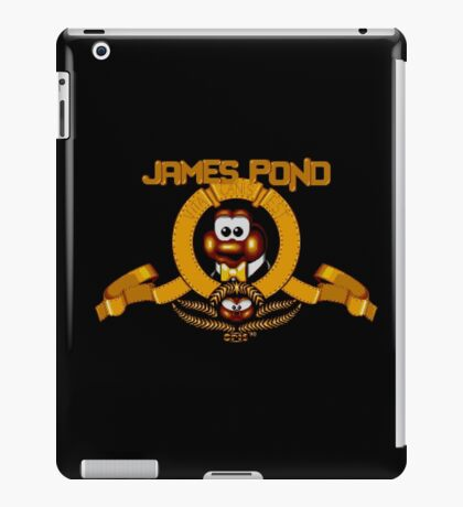 James Pond - SNES Title Screen iPad Case/Skin