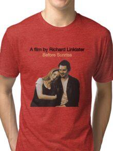 BEFORE SUNRISE // RICHARD LINKLATER (1995) Tri-blend T-Shirt