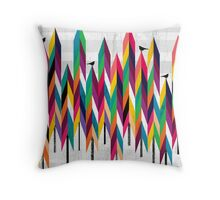 Pinetrees Throw Pillow