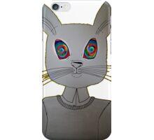 Hypnotized White Rabbit  iPhone Case/Skin