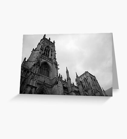 Gothic Appearance Greeting Card