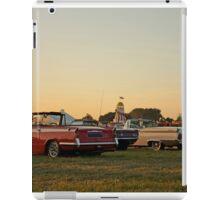 Drive-in sunset iPad Case/Skin