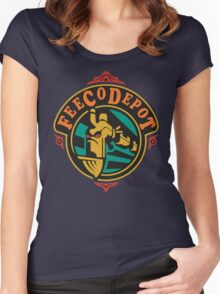 FeeCo Depot Women's Fitted Scoop T-Shirt