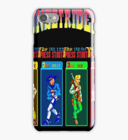 Sunset Riders Character Select iPhone Case/Skin
