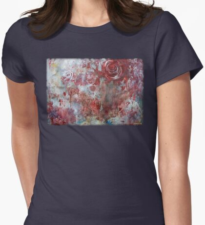 When Roses Bleed Womens Fitted T-Shirt