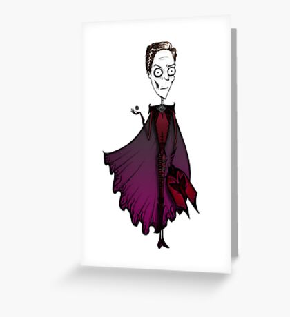 Erik Lensherr meets Burton Greeting Card