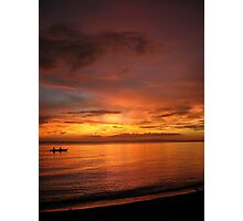 Philippine Sunset 2 Photographic Print