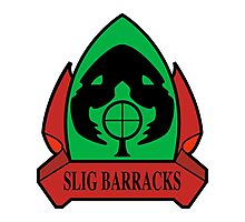 Slig Barracks Photographic Print