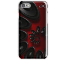 Music Vortex 3.1 Red iPhone Case/Skin