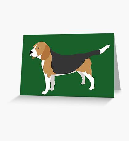 Winnie der Beagle Greeting Card