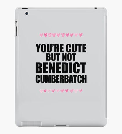 Cute but not Benedict Cumberbatch iPad Case/Skin