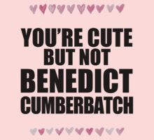 Cute but not Benedict Cumberbatch One Piece - Short Sleeve