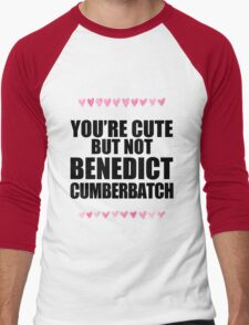 Cute but not Benedict Cumberbatch Men's Baseball ¾ T-Shirt