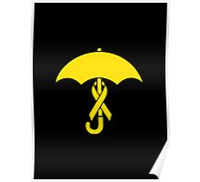 Umbrella Revolution 2014 Yellow Ribbon Movement Poster