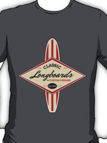 Classic Longboards Custom Surfboards T-Shirt
