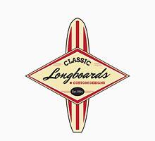 Classic Longboards Custom Surfboards Unisex T-Shirt
