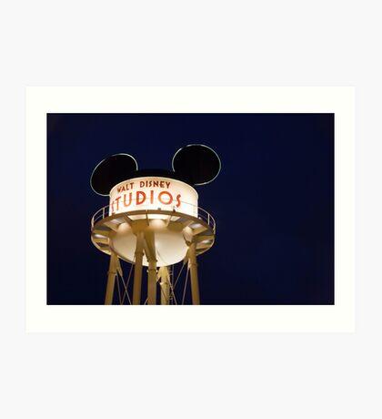 Walt Disney Studios Art Print