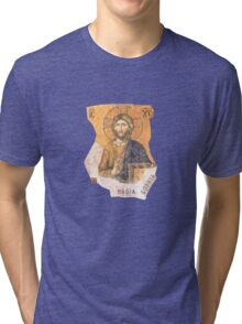 "Jesus H. Christ ""Hagia Sophia"" Photography by Alice Iordache Tri-blend T-Shirt"