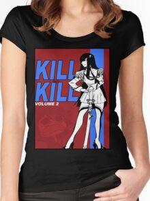 KILL LA BILL 2 Women's Fitted Scoop T-Shirt