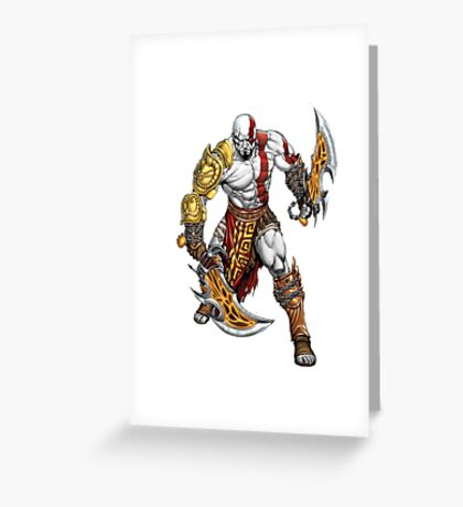 war of god Greeting Card