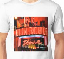 Moulin Rouge Paris Club Entrance  Unisex T-Shirt