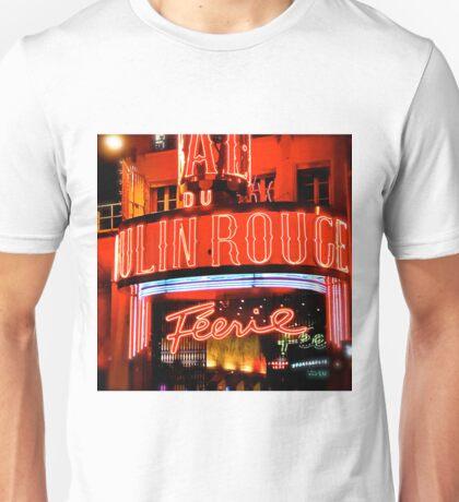 Moulin Rouge Paris Club Entrance  Unisex T-Shirt