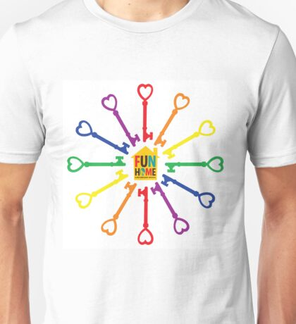Ring of Keys - CLOCK (and more!) Unisex T-Shirt