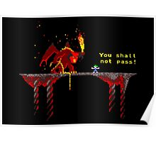 You shall not pass! Poster