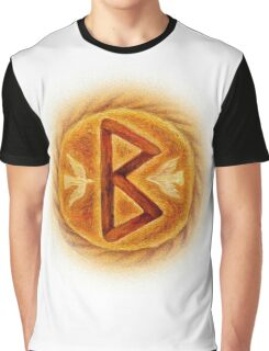 Berkanan - The Rune of Growth and Fertility Graphic T-Shirt