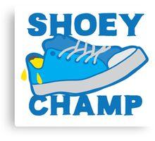 Shoey champ Canvas Print