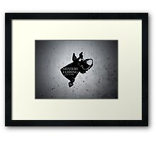 Mystery is coming Framed Print