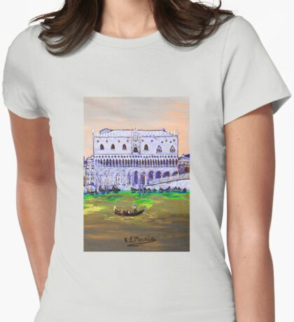 The Doge's Palace Womens Fitted T-Shirt