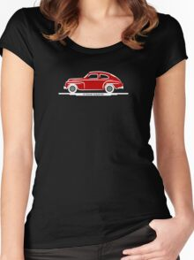 Volvo PV544 Red for The Volvo Fans Women's Fitted Scoop T-Shirt