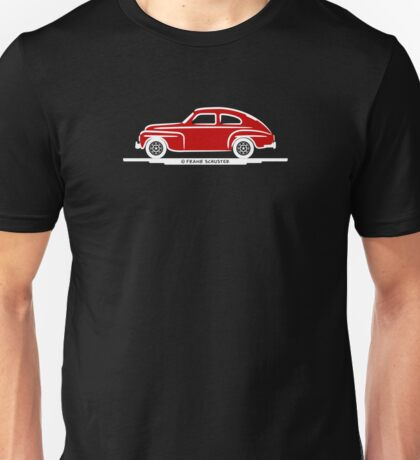 Volvo PV544 Red for The Volvo Fans Unisex T-Shirt