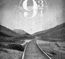 Platform Nine And Three Quarters by Fenja Van Em