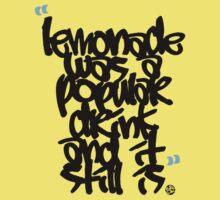 """Lemonade was a popular drink"" Kids Clothes"
