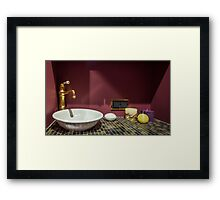 Bathroom Framed Print