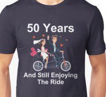 50th Anniversary TShirt 50 Years And Still Enjoying The Ride Unisex T-Shirt