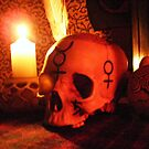 Samhain Candlelight at the Ancestral Shrine by Toradellin