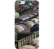 Trains Railroad Junction iPhone Case/Skin