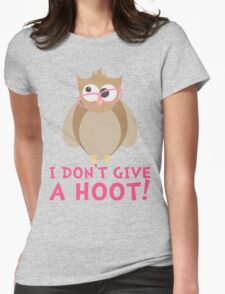 Funny Owl - I Dont Give a Hoot T Shirt T-Shirt
