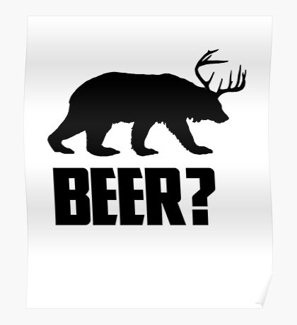 Beer, Bear? Poster