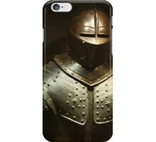 steel knightly armor iPhone Case/Skin