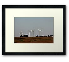 Harness the wind Framed Print