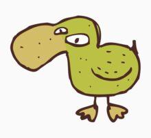 Funny little cartoon duck One Piece - Short Sleeve