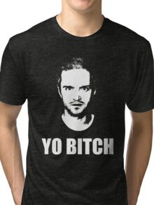 Jesse Pinkman - YO BITCH Tri-blend T-Shirt