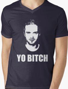 Jesse Pinkman - YO BITCH Mens V-Neck T-Shirt